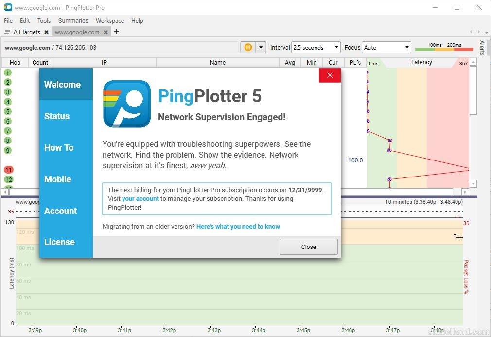 15956de9 5ea3 43d4 9248 92a994f8b215 - دانلود نرمافزار قدرتمند نظارت بر عملکرد شبکه PingPlotter Professional 5.5.12.4477