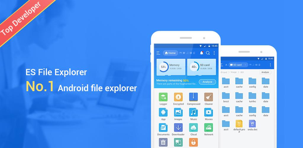 ES File Explorer File Manager Mod Cover - دانلود ES File Explorer File Manager Mod 4.1.8.5
