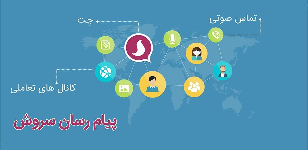 دانلود برنامه پیام رسان ایرانی سروش اندروید + ویندوز 1