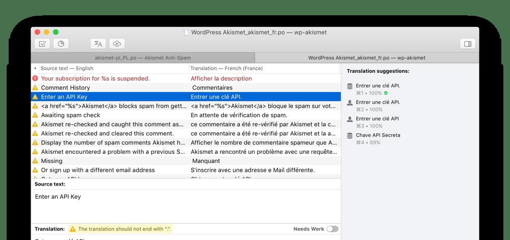 screenshot splash - دانلود Poedit Pro + macOS 2.2 Build 5561 ترجمه سورس های برنامه نویسی