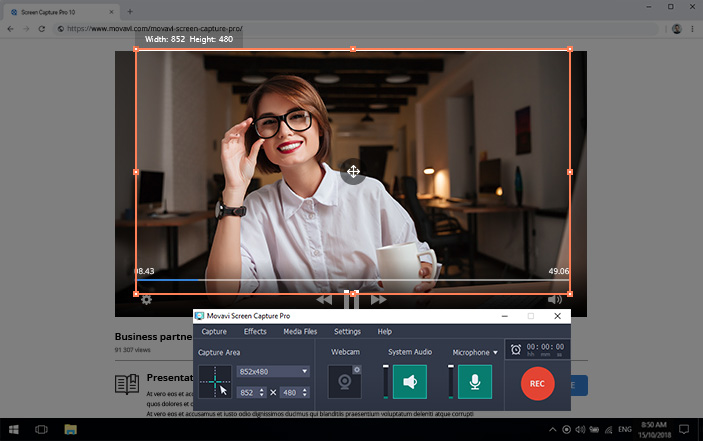 1 en - دانلود Movavi Screen Capture Pro 10.0.1  عکسبرداری و فیلمبرداری از صفحه نمایش