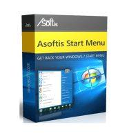 دانلود Asoftis Start Menu 2.5 منو استارت برای ویندوز