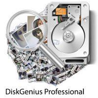 بازیابی اطلاعات از دست رفته و مدیریت پارتیشن DiskGenius Professional 5.0.1.609