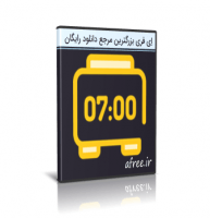 دانلود Digital Clock 4.7.5 + Portable ساعت دیجیتالی روی میزکار ویندوز