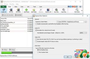 دانلودExpress Burn Plus 10.30 نرم افزار رایت CD و DVD